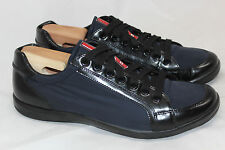 Prada 'Offshore' Sneakers Lace Up - Navy Blue - 8US / 7UK - 4E 2439 (V4)