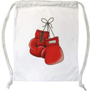 'Boxing Gloves' Drawstring Gym Bag / Sack (DB00016507)