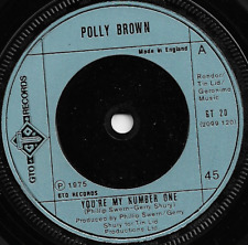 POLLY BROWN - YOU'RE MY NUMBER ONE / S.O.S. - 70s ELECTRONIC DISCO