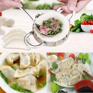 Conveasy Stainless Steel Dumpling Maker Dough Cutter Ravioli Empanada Press Mold