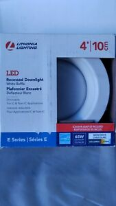 Lithonia Lighting Contractor Select E-Series 4 in. 2700K Warm White Integrated L