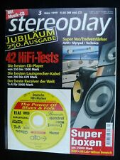 STEREOPLAY 3/99,T+A 1520 R,DYNAUDIO CONTOUR 1.3 MK II 99,ELAC CL 310 JET,AUDIO
