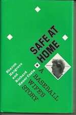 Safe at Home by Sharon Hargrove SIGNED 1989 Cleveland Indians Mike Hargrove
