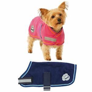 Dog Coat Fleece Vest Jacket Puppy Outdoor Cover Equestrian Adjustable All Size