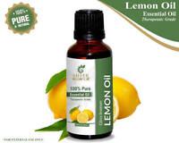 100% Lemon Oil -(Citrus Limonum) Undiluted Natural Pure Essential Oil 5ML-2000ML