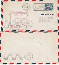 US 1959 AM 98 FIRST FLIGHT COVER BOGALUSA LA TO MEMPHIS TENN