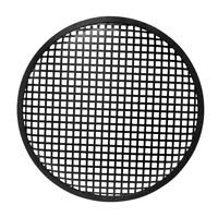 1 Grille Haut Parleur Diamétre 254 mm Couleur Noire