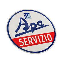 Piaggio Ape Schriftzug Emblem Aufkleber Deko Optik Zubehör Vespa 500 400 50 TM