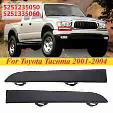 Pair Front Bumper Grille Headlight Filler Trim Panel For Toyota Tacoma  NEW