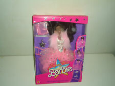 VINTAGE 1988 MATTEL SUPER STAR AFRICAN AMERICAN BARBIE - PINK -3  -NEW