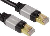 Hama CAT6 LAN Netzwerk DSL Kabel Netzwerkkabel STP Cat 6 doppelte Abschirmung 3m