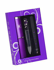 Danielle 3 Pc Nail Care Gift Set Inc Swarovski Crystal Elements Purple Gift Idea
