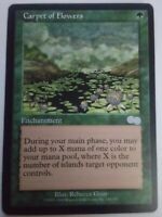 MTG Magic the Gathering English Carpet of Flowers 1998 Urza's Saga NM