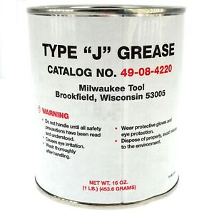 Milwaukee 49-08-4220 Grease, Type J, 1lb