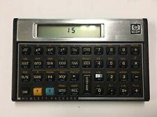 1982 HP 15C Programmable Scientific Calculator and 2 Slip Cases