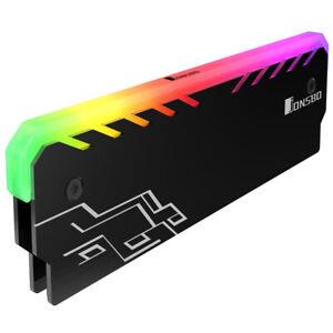 Jonsbo NC-1 Aluminium Ramkühler mit RGB Beleuchtung schwarz