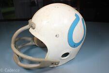 Vintage 1970's Wilson F-2050 Colt's Horseshoe Extra Small Football Helmet No Str