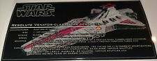 Star Wars Sticker for Lego® Resolute Venator Class Star Destroyer 8x16 Tile ANIO