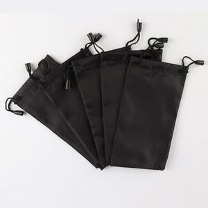 10x Sunglasses Bag Pouch Soft Cloth Cleaning Optical Glasses Case Gift