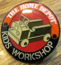 The Home Depot Kids Workshop Truck Hat Lapel Pin