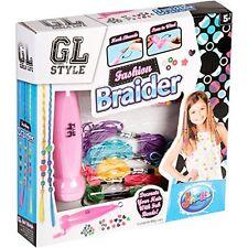 GL STYLE GIRLS FASHION BRAIDER HAIR BEAD KIT SET