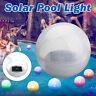 Solare 7 Cambiamento Colore LED Sfera Galleggiante Luci Nuoto Pool Stagno Aperto
