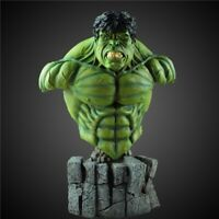 Hulk Face Mini Statue Green Monster action figure toy model PVC Doll 30 cm