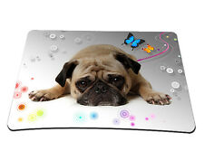 Cute Pug Pattern Gaming Mouse Pad Mat Desktop Mousepad Fr Optical Laser Mouse
