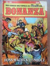 BONANZA Nr. 15 Hoss macht Kleinholz --- Bastei Verlag