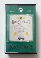 Rod Stewart The Vintage Years 1969-70 Cassette Tape IMD-6176 Album Rare Issue