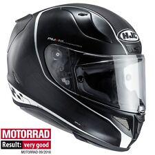 HJC RPHA 11 RPHA11 RIBERTE BLACK WHITE Full Face Motorcycle Motorbike Helmet