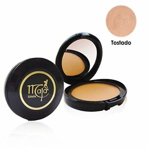 MAJA Pressed Powder TOSTADO 0.53 oz / 15 g Polvo Compacto Face Powder