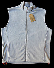 Men's WOOLRICH Light Gray / Grey Andes Fleece Vest XXL 2XL NWT NEW
