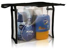 Nivea Men Travel Mini Sommer Tasche Set-Deo, Lippe, Dusche, Creme & Sonne