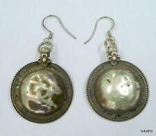 earrings gypsy hippie jewelry india vintage antique tribal old silver