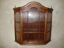 Antique Oak Curio Cabinet Beautiful