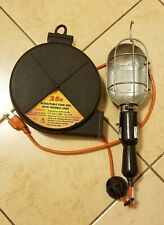 Retractable Cord Reel With Trouble Light 25 Ft