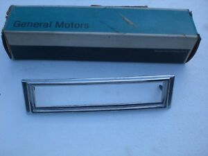 1970-1974; CHEVY NOVA,1973-74; BUICK APOLLO & OLDS OMEGA NOS FRONT MARKER BEZEL