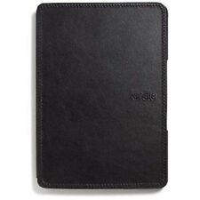 Genuine Official Amazon Leather Cover for Kindle 4 - Black - Authentic Case