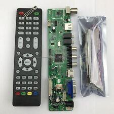 V56 Universal LCD TV Controller Driver Board PC/VGA/HDMI/USB Interface+7 key boa