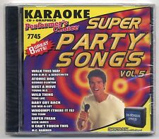 SOUND CHOICE PERFORMER'S CHOICE KARAOKE SC-7745 PARTY SONGS, NEW FACTORY SEALED