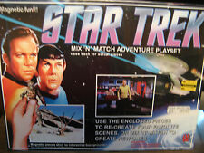 Star Trek Mix 'N' Match Magnetic Adventure Playset