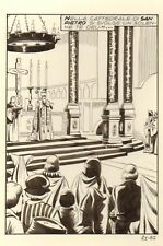 LUCIFERA 21 pag.  87 Planche Originale-Tavola Originale