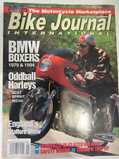 Bike Journal International Magazine September 1993 BMW Boxers Oddball Harleys