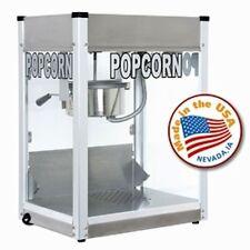 Commercial 6 oz Popcorn Machine Theater Popper Cart Paragon Pro PS-6