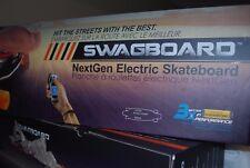SWAGTRON SWAGBOARD ELECTRIC SKATEBOARD LONGBOARD MAPLE DECK WIRELESS REMOTE NEW