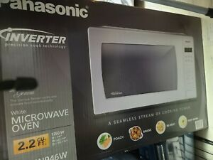 Panasonic 2.2 Cu. Ft. Countertop Microwave Oven with Inverter Technology - White