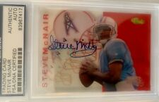 Steve McNair 1995 classic football certified auto #/200