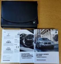 GENUINE BMW 5 SERIES F10 HANDBOOK NAVI OWNERS MANUAL 2013-2017 WALLET PACK C-919