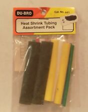 Du-Bro 441 Heat Shrink Tubing Assortment Pack NIP
